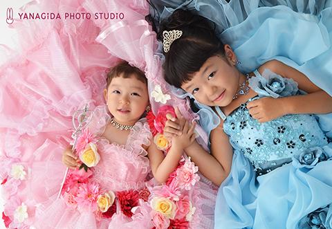 姉妹写真 ドレス 七五三.jpg